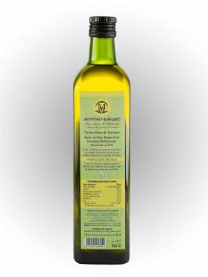 Extra Virgin Olive Oil Variety Cold Multivarietal Extraction - 750 ml.